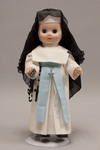 Doll wearing habit worn by Missionary Sisters of the Immaculate Conception