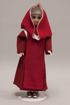 Doll wearing habit worn by Hermits of Jesus the Eternal Priest