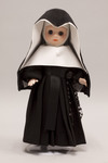 Doll wearing habit worn by School Sisters of Notre Dame