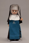 Doll wearing habit worn by Daughters of Mary and Joseph