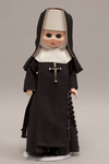 Doll wearing habit worn by Sisters of the Order of Saint Basil the Great
