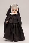 Doll wearing habit worn by Little Sisters of the Poor