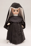 Doll wearing habit worn by Sisters of Loretto