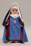Doll wearing habit worn by Redemptoristines