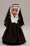 Doll wearing habit worn by Daughters of Saint Mary of the Presentation