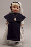 Doll wearing habit worn by Sisters of Life