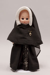 Doll wearing habit worn by Sisters of Saint Dorothy