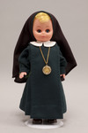 Doll wearing habit worn by the Vocation Sisters