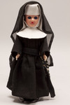 Doll wearing habit worn by Ursulines