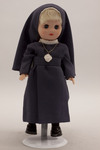 Doll wearing habit worn by Daughters of Saint Paul
