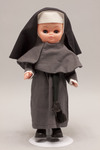 Doll wearing habit worn by Glenmary Home Mission Sisters