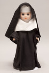 Doll wearing habit worn by Benedictine Sisters