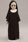 Doll wearing habit worn by Sisters of Saint Francis of Penance and Christian Charity