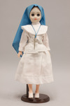 Doll wearing habit worn by the Daughters of Divine Love Congregation