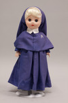 Doll wearing habit worn by Daughters of Our Mother of Peace