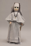 Doll wearing habit worn by Benedictine Sisters of Saint Martin Monastery