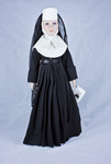 Doll wearing habit worn by Sisters of the Order of Mercy