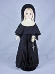 Doll wearing habit worn by Sisters of Charity of Cincinnati by Genuine Nun Doll Inc.
