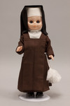 Doll wearing habit of an unidentified religious order