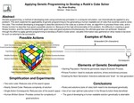 Applying Genetic Programming to Develop a Rubikâs Cube Solver by Brian T. Bradley