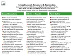 Research exercise: Sexual Assault on College Campus