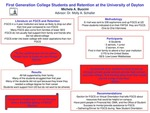 First-Generation Students and Retention at the University of Dayton