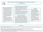 Efficiency, Adequacy, and Equity in Educational Funding: A Review of the Literature