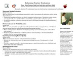 Research exercise: Syntheses of Research on Evaluation of p - 12 Teachers