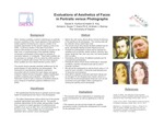 Evaluations of Aesthetics of Faces in Portraits and Photographs