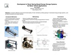 Novel Concepts for Spring-Based Mechanical Energy Storage in Motor Vehicles