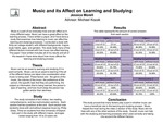 Music and its Affect on Learning and Studying