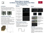 Phase Space Analysis to Detect and Remove Rain from Video
