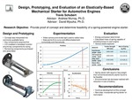 Design, Prototyping and Evaluation of an Elastically-Based Mechanical Starter for Automotive Engines