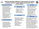 Research exercise: Teaching Strategies, Methods, and Procedures for English Language Learners in Early Childhood Education