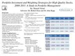 Identifying Portfolio Investment Strategies for High Quality Ranked Stocks in the Highly Volatile Market Period 2008-2011