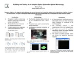 Building and Testing of an Adaptive Optics System for Optical Microscopy