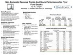 Non Domestic Revenue Trends and Stock Performance for Flyer Fund Stocks 2005-2011