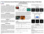 Nonlinearly Induced Refractive Index Measurements by Using a Probe Beam.