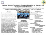 National Science Foundation - Research Education for Teachers and the Experience for Students