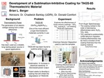 Development of a Sublimation-Inhibitive Coating for TAGS-85 Thermoelectric Material