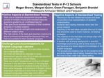 Research exercise: Research on Standardized Tests in p-12 Schools