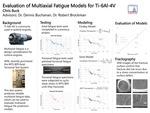 Evaluation of Multiaxial Fatigue Models for Ti-6Al-4V