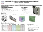 Research exercise: Infant Cause and Effect Toy for Bombeck Family Learning Center