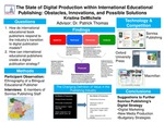 The State of Digital Production within International Educational Publishing: Obstacles, Innovations, and Possible Solutions