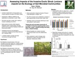The Micro-Ecology of Plant Invasion: Assessing Impacts of the Invasive  Exotic Shrub Lonicera maackii on the Ecology of Soil Microbial  Communities