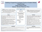 Building and Supporting Faculty & Student-Athlete Relationships by Jenifer L. Gerard