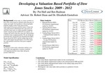 Developing a Valuation Based Portfolio of Dow Jones Stocks