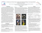 Do Measures of Ocular Gaze Correlate with Subjective Ratings in Assessing Aesthetic Preferences for Faces?