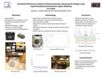 Simulated Performance Analysis of Novel Automotive Spring-Starter Designs using Experimentally Derived Dynamic Engine Models