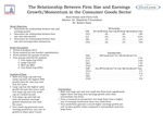 Using Relative Valuation and Earnings Momentum to Measure the Returns to Stocks within Industry Groups